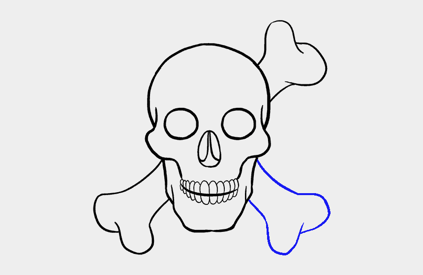 duck skull clipart, Cartoons - Simple Skull Drawing - Draw A Skull Step By Step Eas