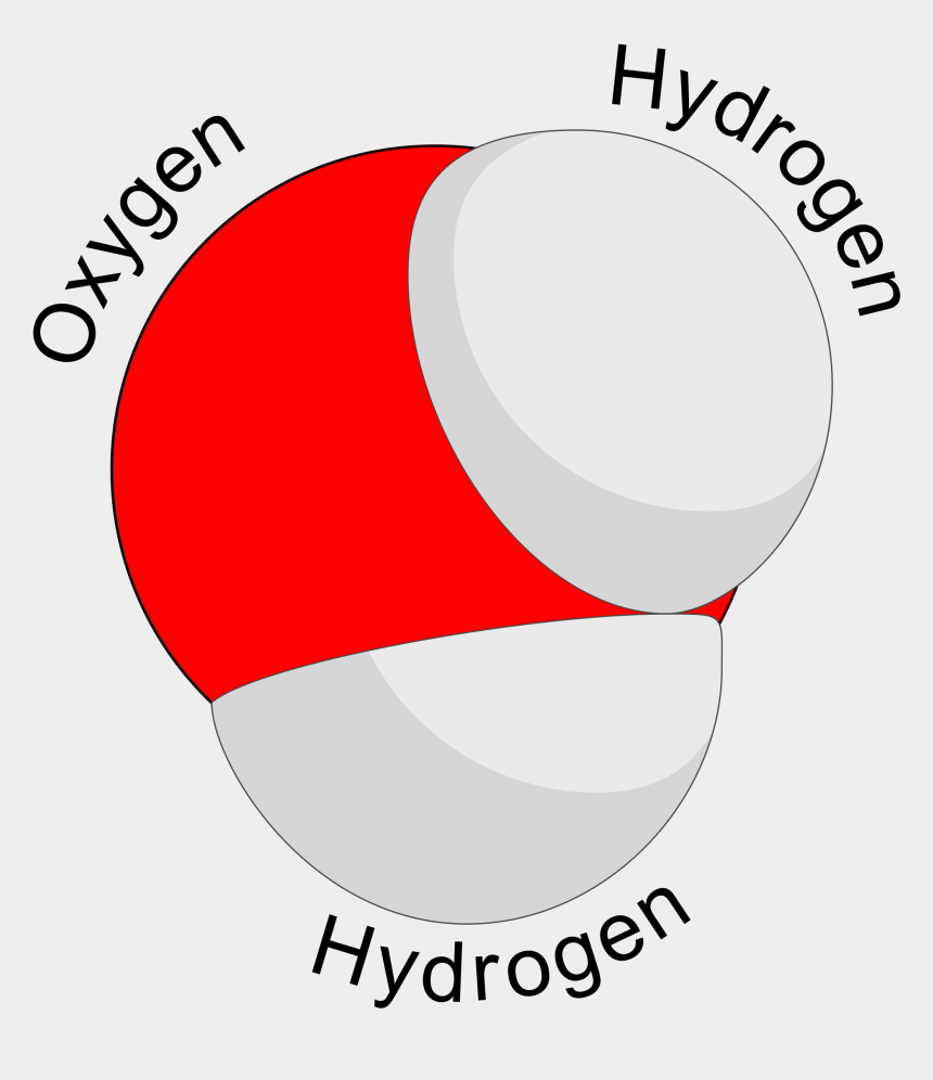 oxygen molecule clipart, Cartoons - Dihydrogen Monoxide Parody - Water Molecule Thick