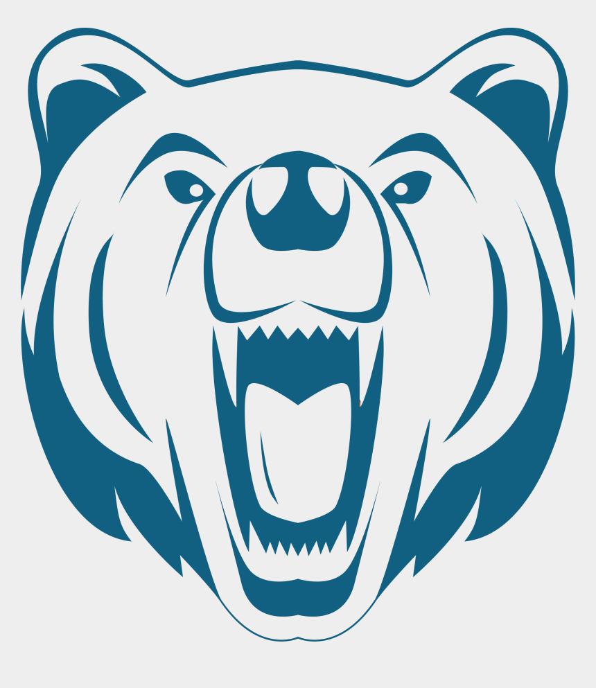 school board meeting clipart, Cartoons - Battle Creek Middle School - Cartoon Polar Bear Face