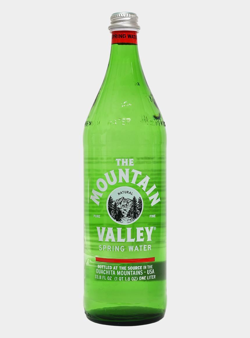 mountain valley clipart, Cartoons - Mountain Valley Spring Water Glass - Mountain Valley Spring Water 750ml