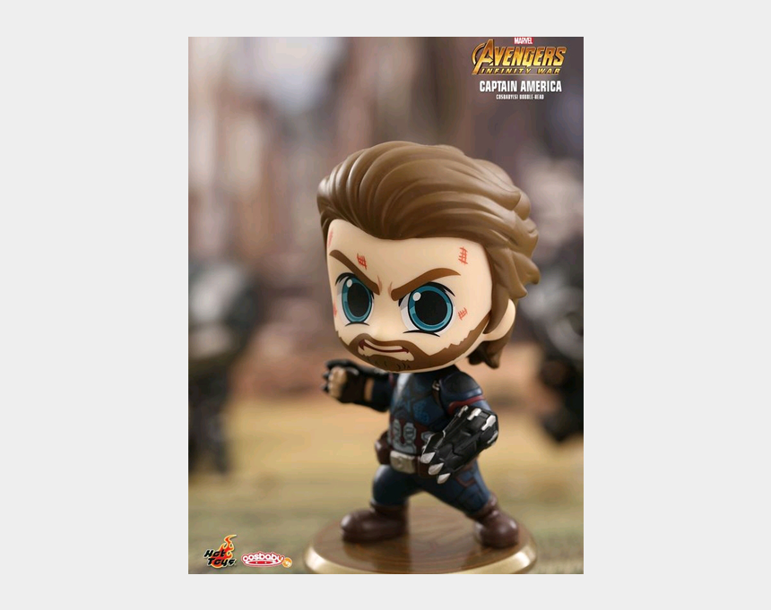 cute captain america clipart, Cartoons - Avengers Infinity War - Hot Toys Cosbaby Captain America