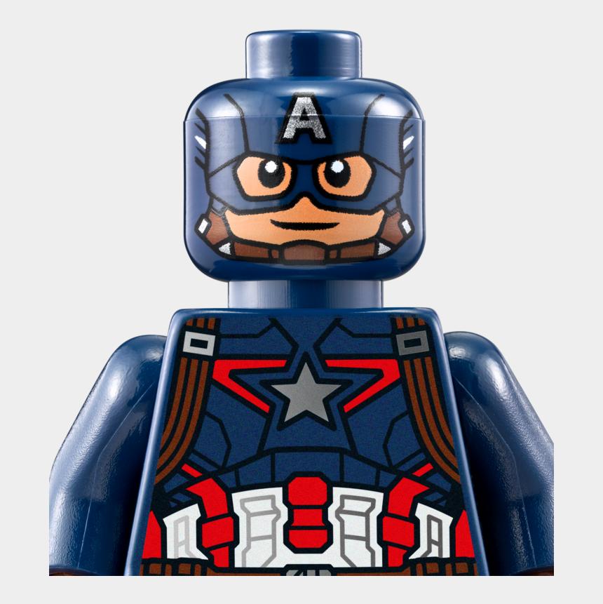 cute captain america clipart, Cartoons - Captain America Lego Png - Captain America Lego Head
