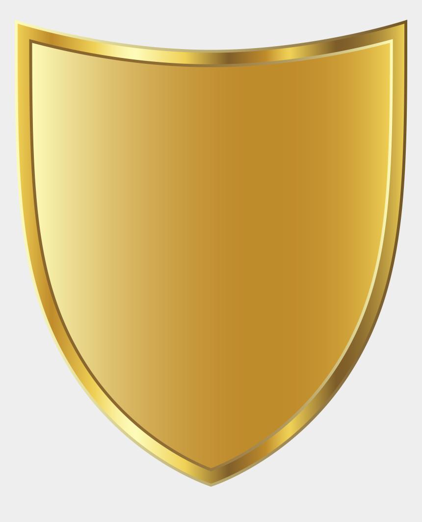 park ranger badge clipart, Cartoons - Clipart Park Badge - Gold Shield Badge Png
