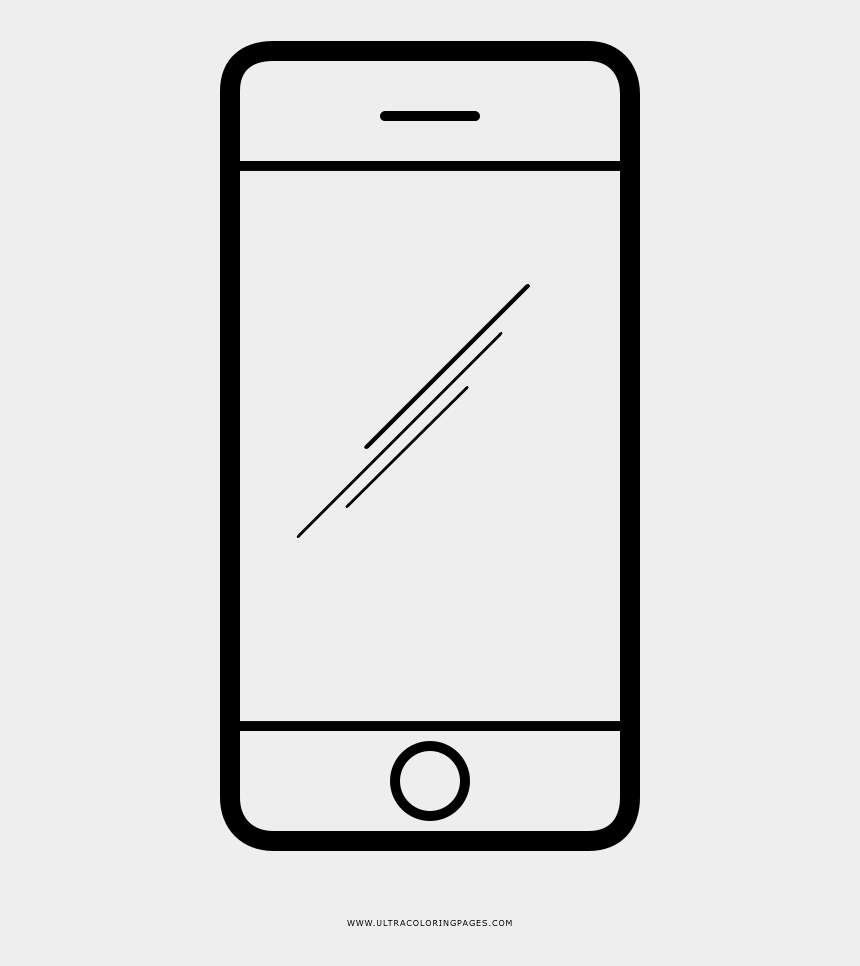 iphone texting clipart, Cartoons - Coloring Page Free Pages Download Xsibe Ultra Ⓒ - Smartphone