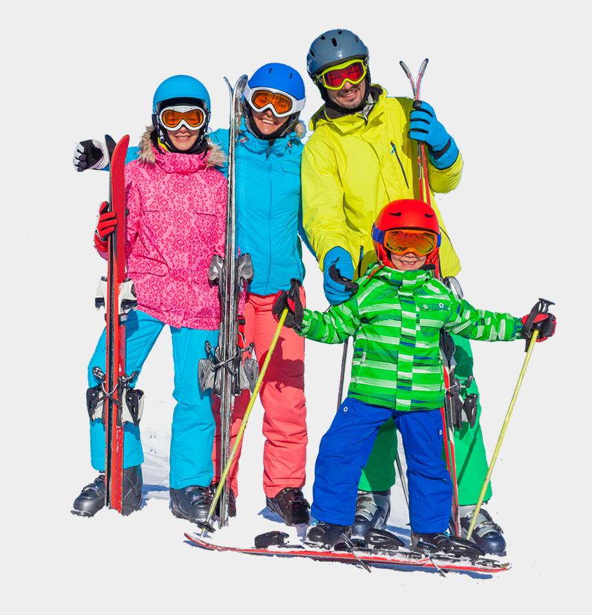 ski racing clipart, Cartoons - Vivaldi Ski One Day Tour Hab Korea - Family On Ski Png