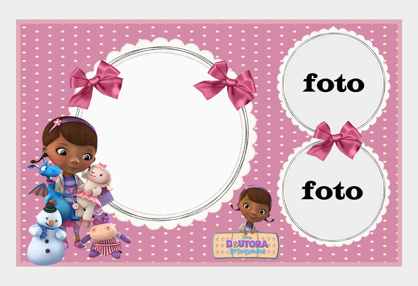 It's just a picture of Divine Doc Mcstuffins Printable Invitations