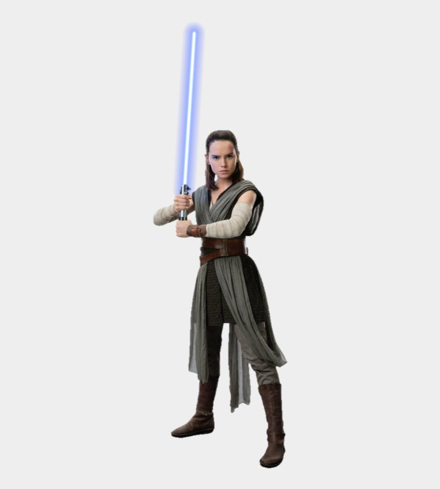 rey star wars clipart, Cartoons - Rey Star Wars Png - Rey Outfit Episode 9