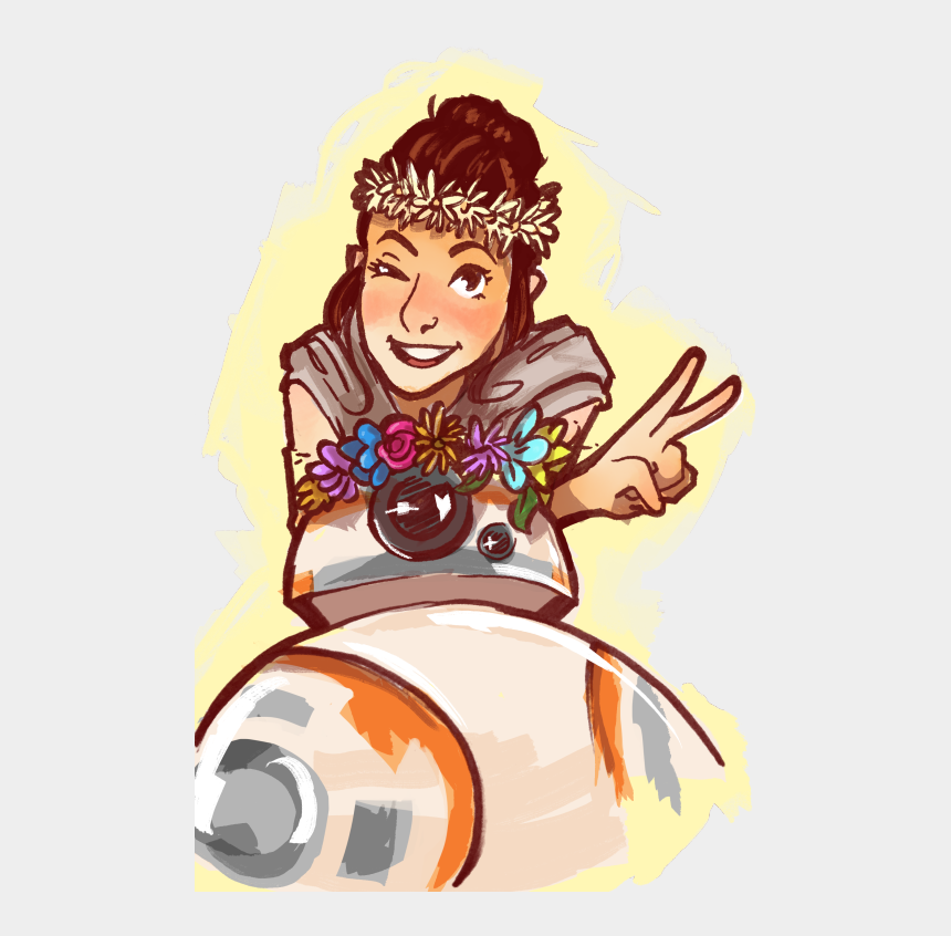rey star wars clipart, Cartoons - @jedikyller • Giftee - Cartoon