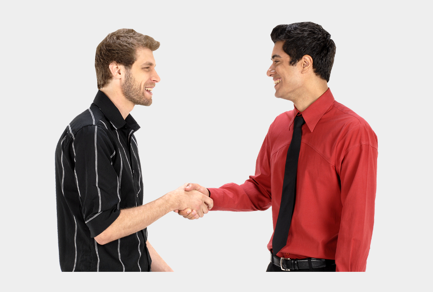 people shaking hands clipart, Cartoons - People Shaking Hands - 2 Men Shaking Hands