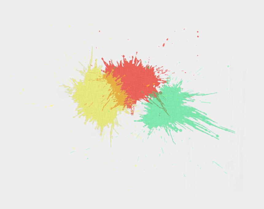 color splash clipart, Cartoons - Watercolor Painting - Paint Splatter Color Splash Background