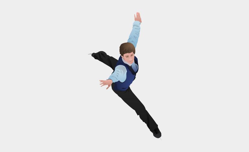 figure skates clipart, Cartoons - Figure Skating Png Photo - Figure Skater Male Clipart