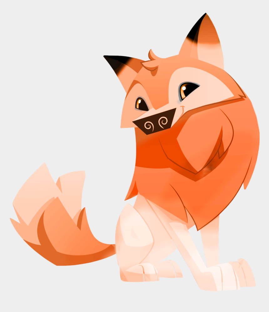 animal jam clipart, Cartoons - Animal Jam Arcitic Fox Now Is A Fox - Animal Jam Art Style