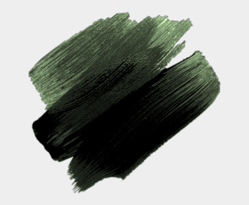 dark forest clipart, Cartoons - #green #dark Green #paint #forest Green #tumblr #aesthetic - Paint Brush Strokes Png