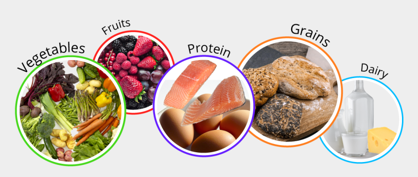 grain food group clipart, Cartoons - Menu Planning For Success Vls - 5 Food Group Meal