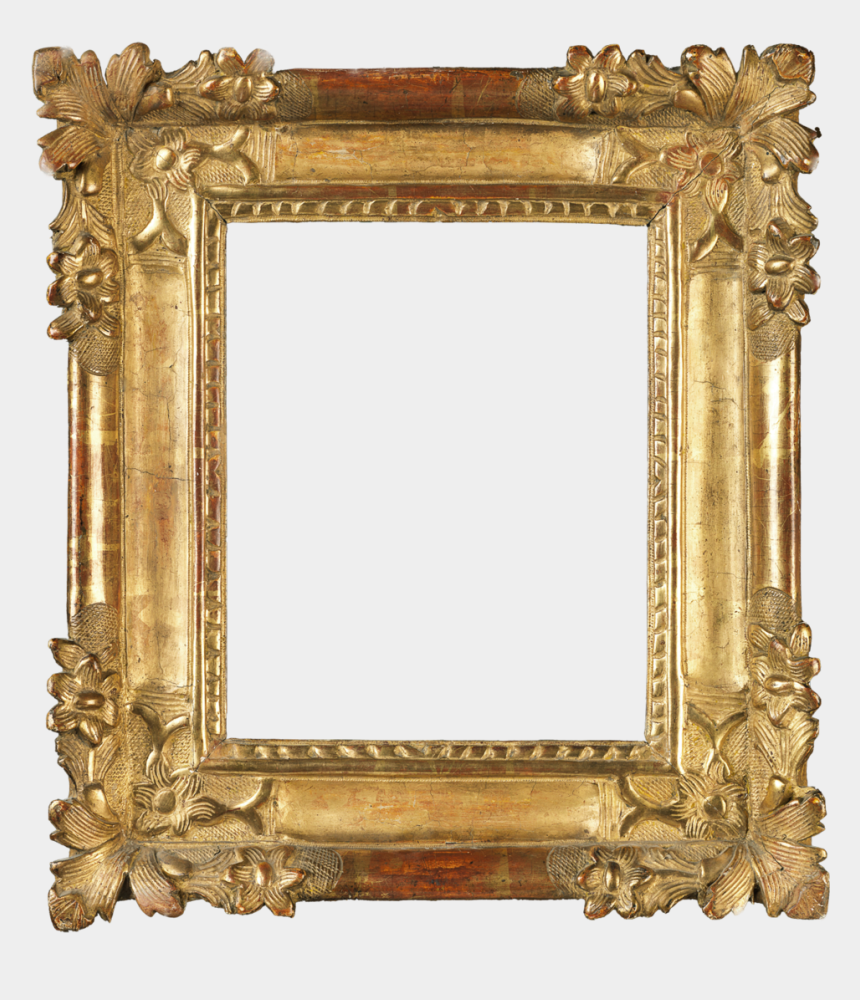 antique frame clipart gold, Cartoons - Louis Xiv - Antique Frames