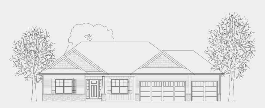 Jamestown Drawing House Line Art Cliparts Cartoons