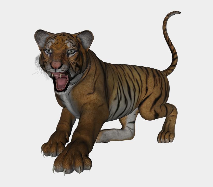 bengal tiger clipart, Cartoons - Tiger