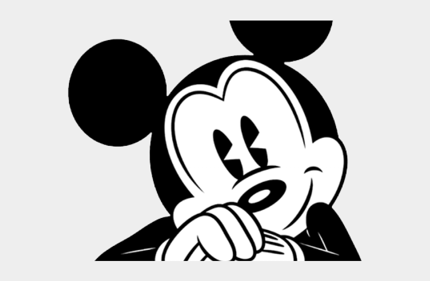 Clipart Wallpaper Blink Mickey Mouse Classic Black And