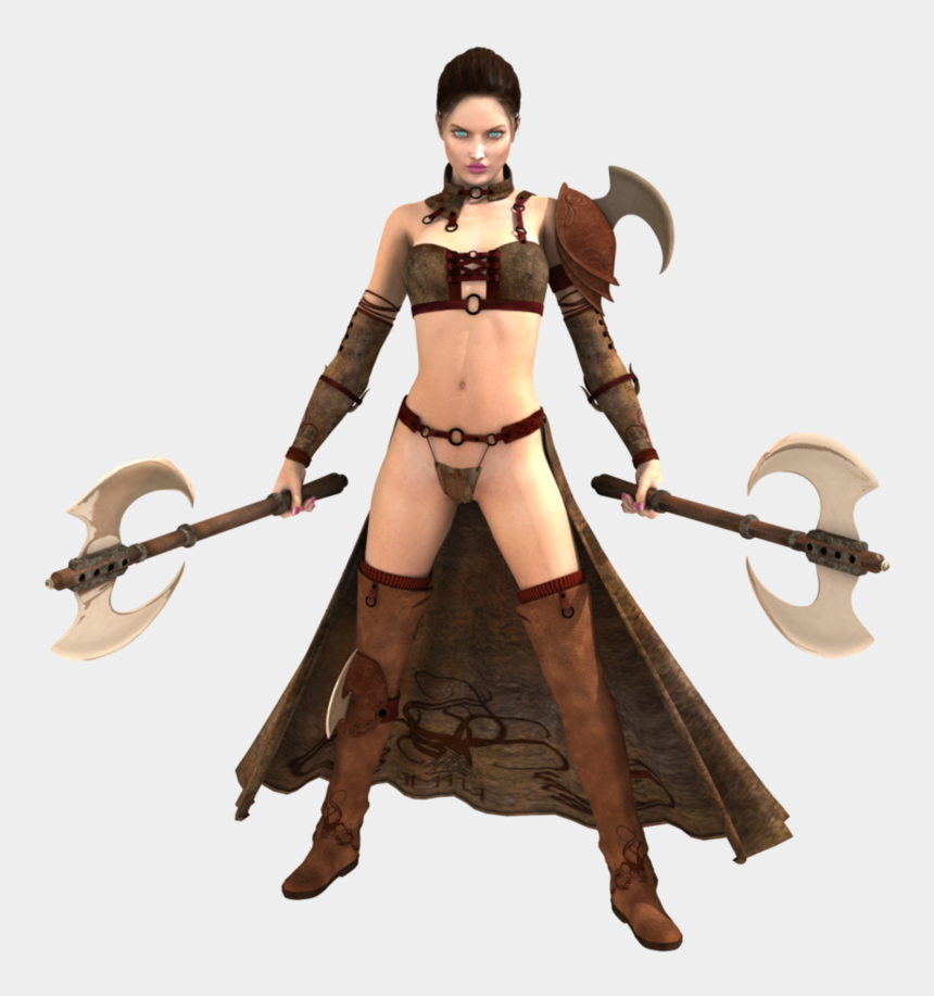 girl warrior clipart, Cartoons - Woman Warrior Transparent Png - Woman Warrior Png