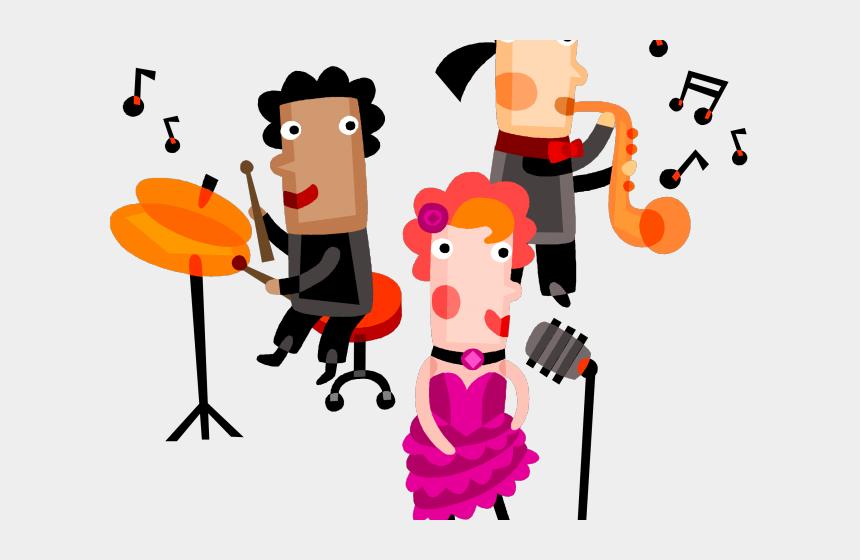 rubber bands clipart, Cartoons - Band Clipart Talent - Musical Performance Clip Art