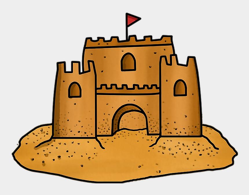 cute sand castle clipart, Cartoons - #castle #sandcastle #sand #summer #cute #adorable - Sand Castle Clipart Png