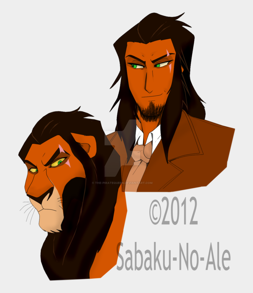 the lion king scar clipart, Cartoons - Scar By The-piratequeen - Scar Rey Leon Anime