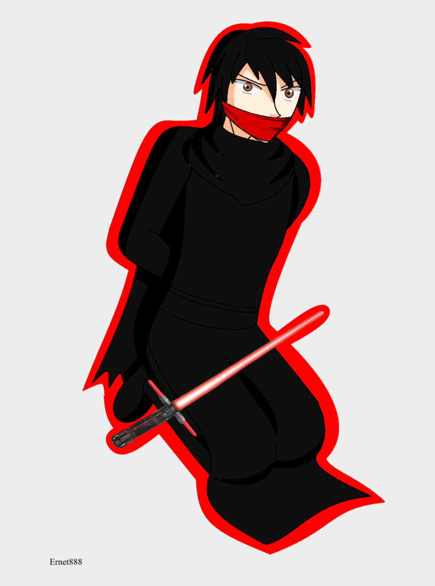 outing clipart, Cartoons - Kylo Ren By Ming Gid - Illustration