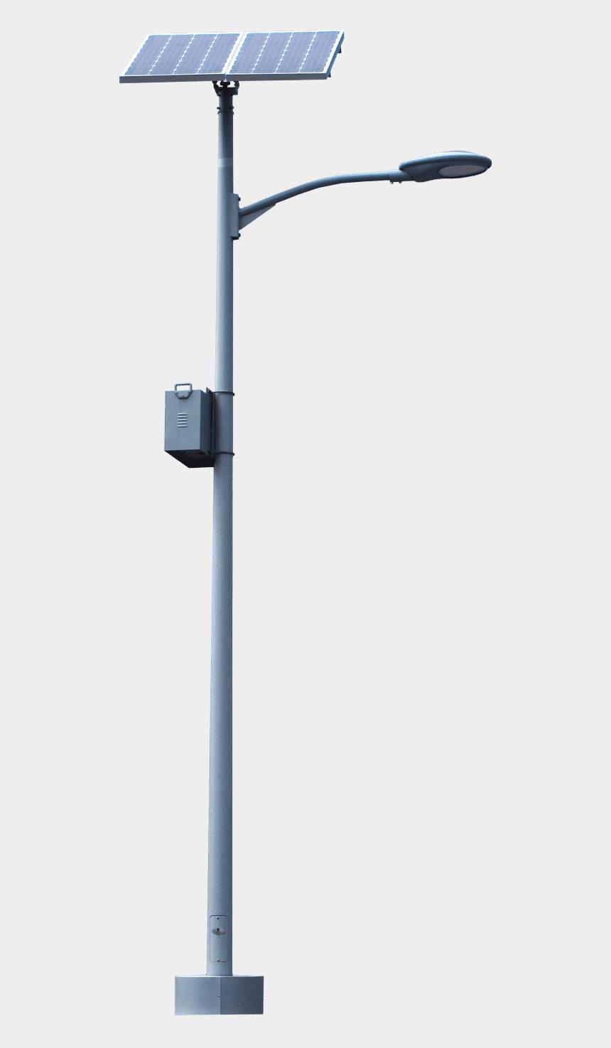 street light poles clipart, Cartoons - Supera Solar Pole Light System - Security
