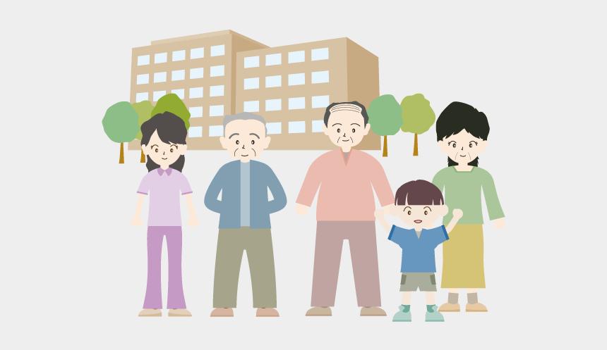 visit nursing home clipart, Cartoons - Nursing Care Welfare - イラスト