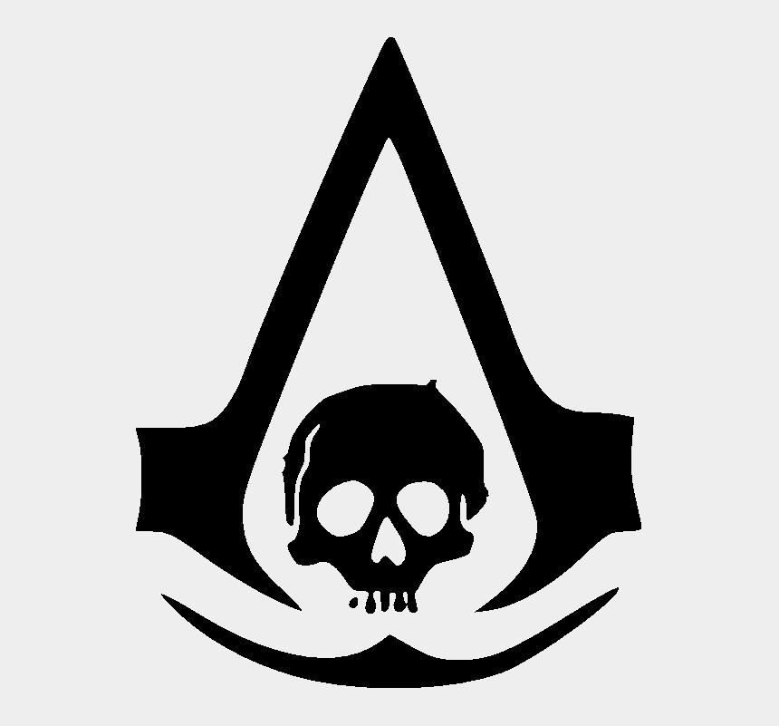 Logo Assassins Creed Black Flag Assassin Creed Logo Sticker Cliparts Cartoons Jing Fm