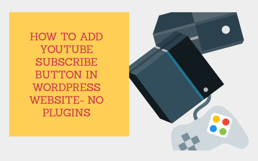subscribe button clipart, Cartoons - How To Add Youtube Subscribe Button In Wordpress Website- - Graphic Design