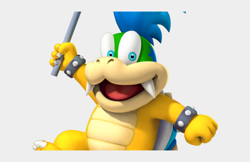 brother clipart, Cartoons - Mario Clipart Two Brother - New Super Mario Bros Wii Larry Koopa