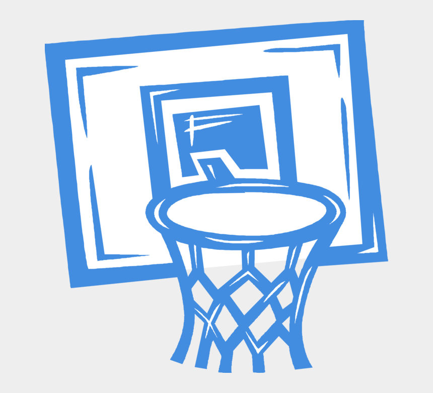 basketball hoop clipart black and white, Cartoons - Basketball Net Vector Png - Sports Related Bulletin Board Ideas