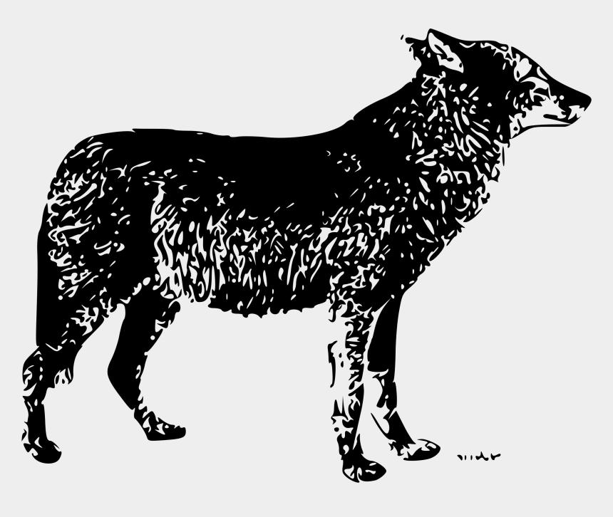 nose clipart black and white, Cartoons - Nose Clipart Wolf - Gambar Serigala Kartun Lucu