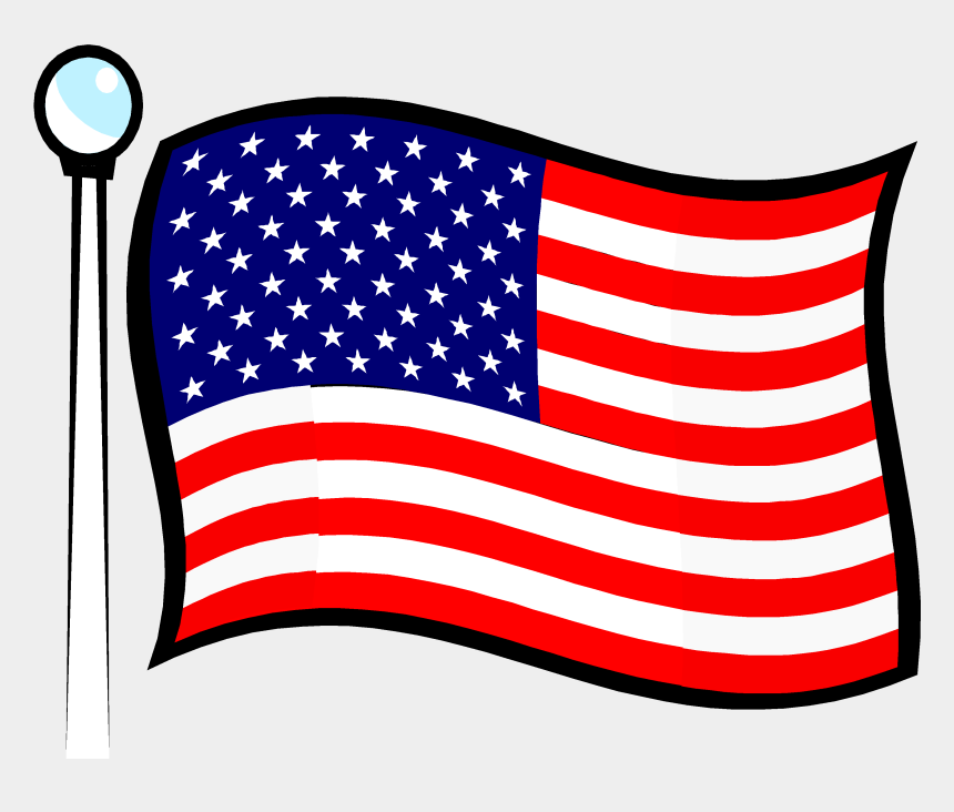 american flag clipart, Cartoons - President Kennedy Established Goal Of Landing A Man - American Flag Png Gif