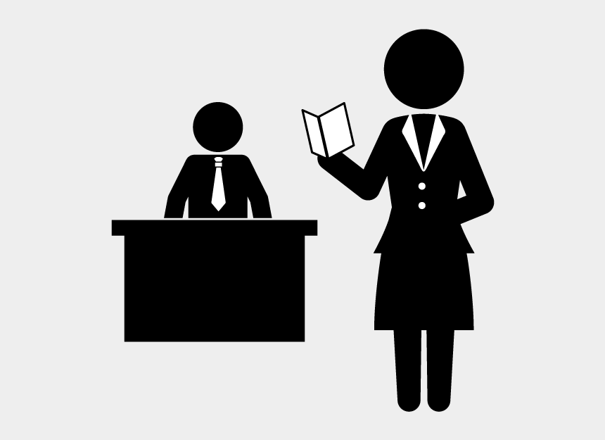 secretary clipart, Cartoons - School And Study - Woman In Suit Icon
