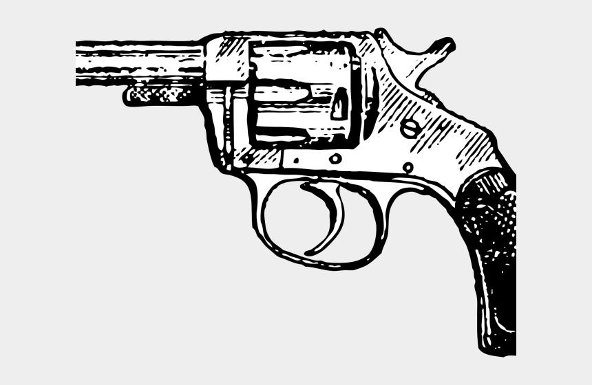 pistol clipart, Cartoons - Pistol Clipart Gun Drawing - Gun Clipart Black And White