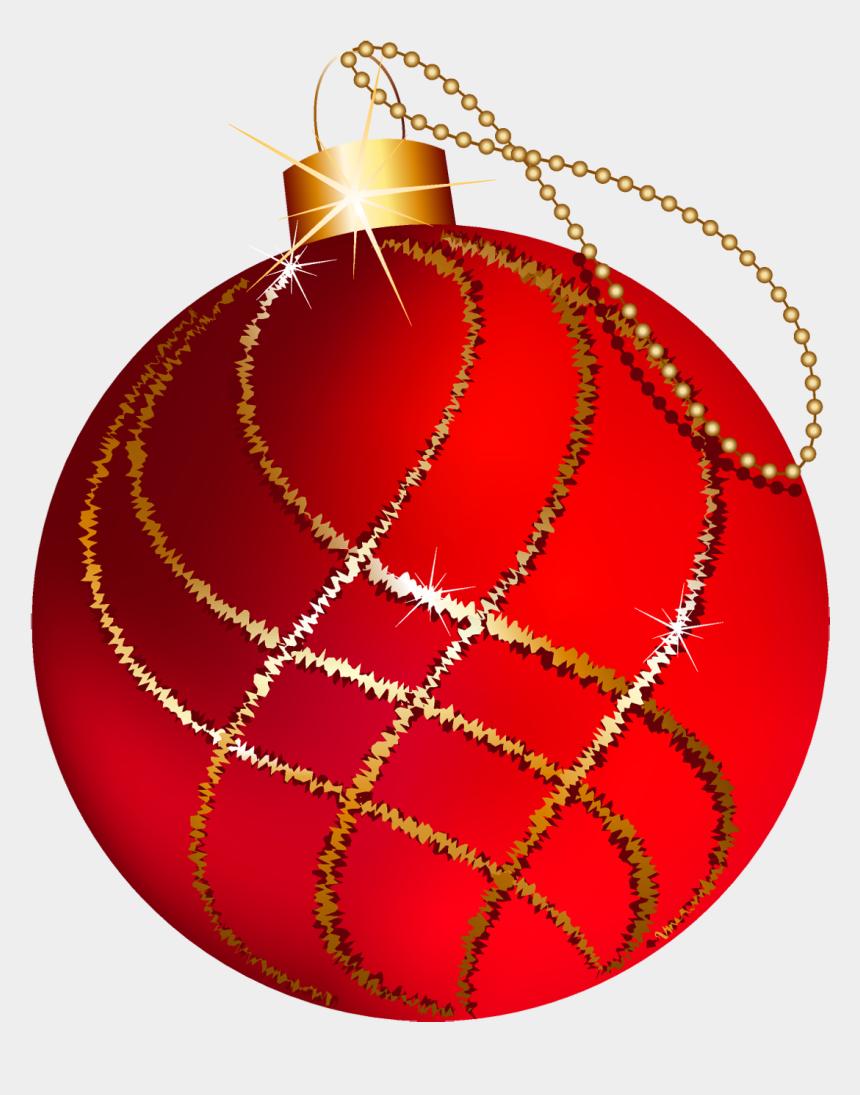 poinsettia clipart, Cartoons - Poinsettia Clipart Xmas Ornaments - Red And Gold Christmas Ornament