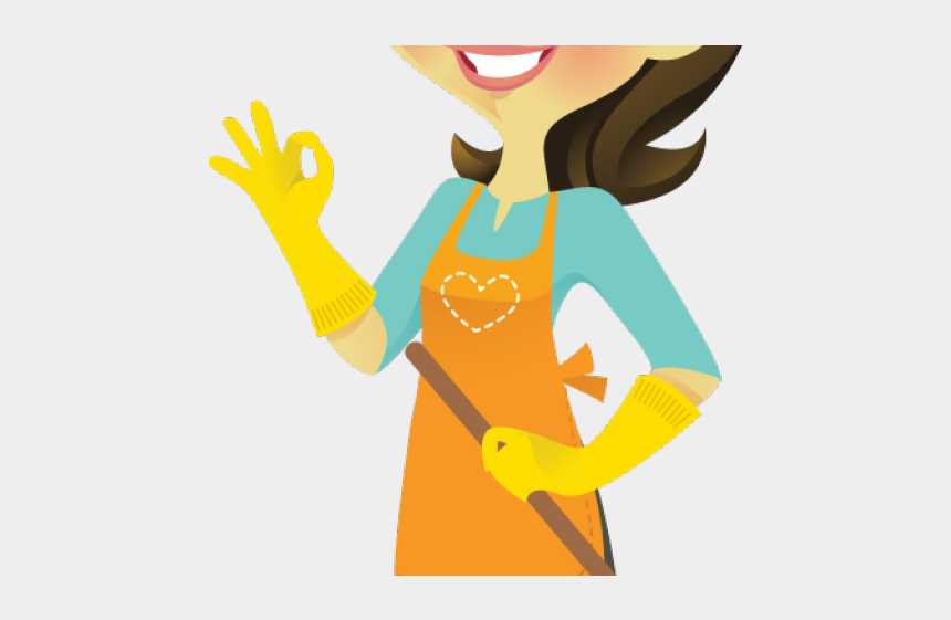 cleaning clipart, Cartoons - Cleaning Lady Clipart - Cleaning Lady Animated Png