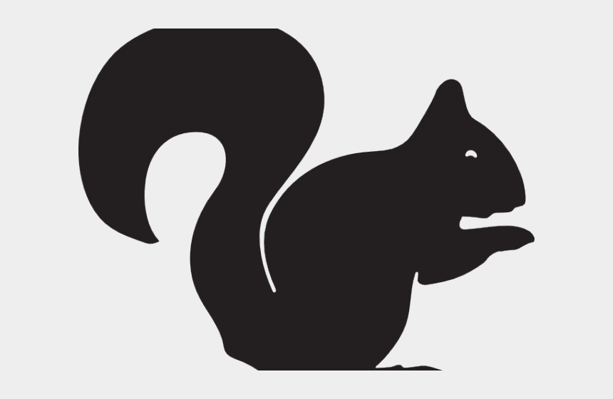 squirrel clipart black and white, Cartoons - Squirrel Clipart Svg - Outline Squirrel Clipart Black And White