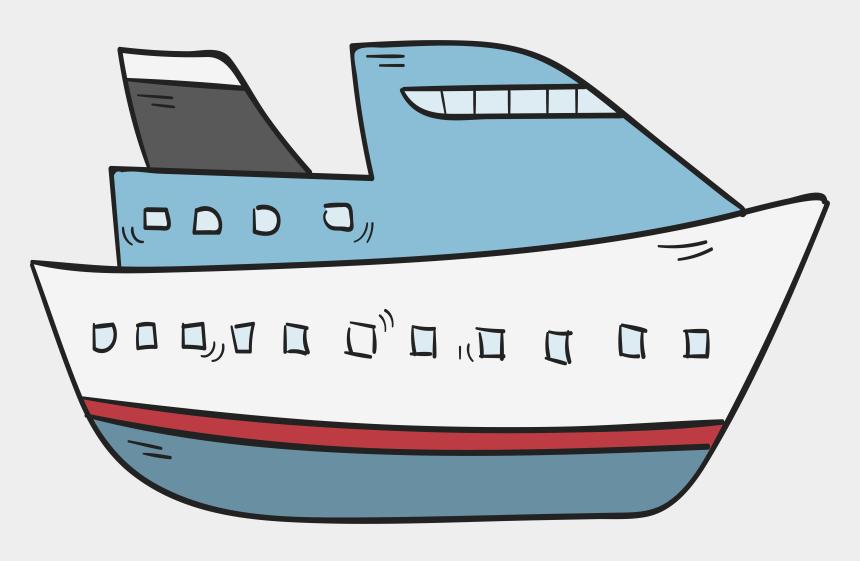 cruise ship clipart, Cartoons - Boat Cruise Ship - Transparent Cruise Ship Cartoon