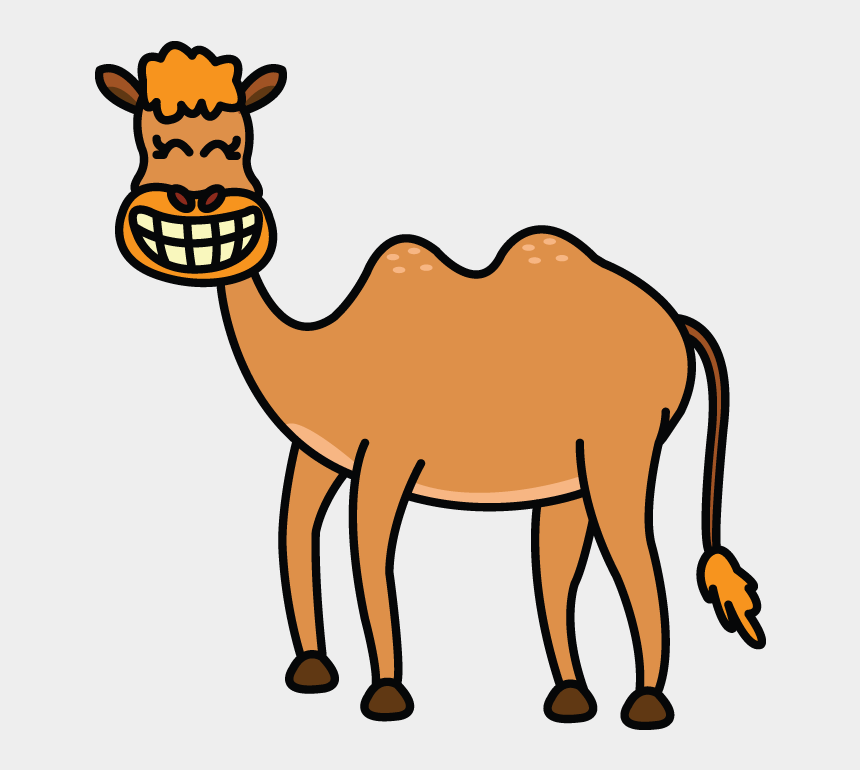draw clipart, Cartoons - Picture Black And White Download Camels Drawing - Draw A Camel Easy