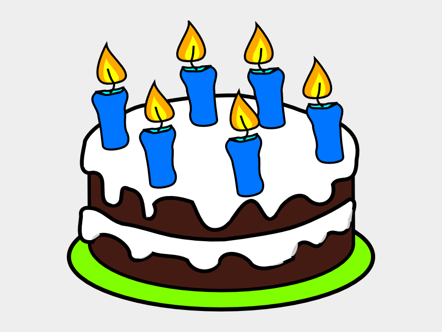 candles clipart, Cartoons - Candles Clipart 18 Candle - Birthday Cake With 4 Candles