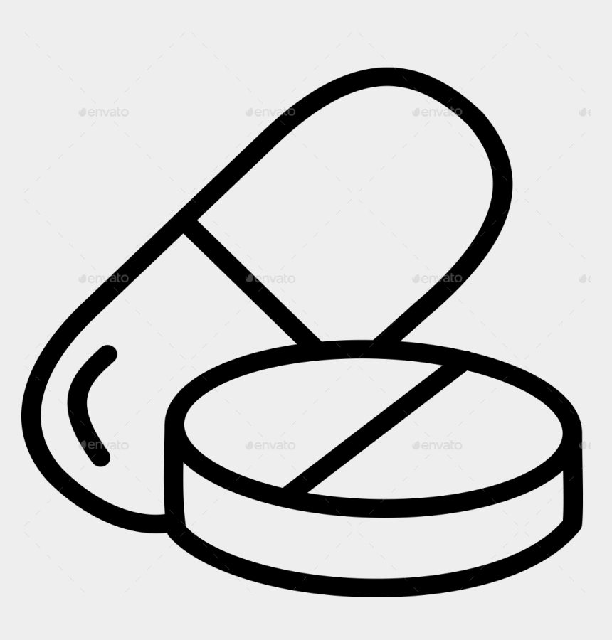pills clipart, Cartoons - 20 Medicine Drugs Pills Line Icon By 4slash - Pharmaceutical Drug