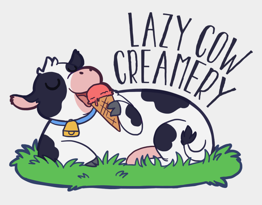 cows clipart, Cartoons - Lazy Cow Creamery Handcrafted - Lazy Cow Creamery Cookeville Tn