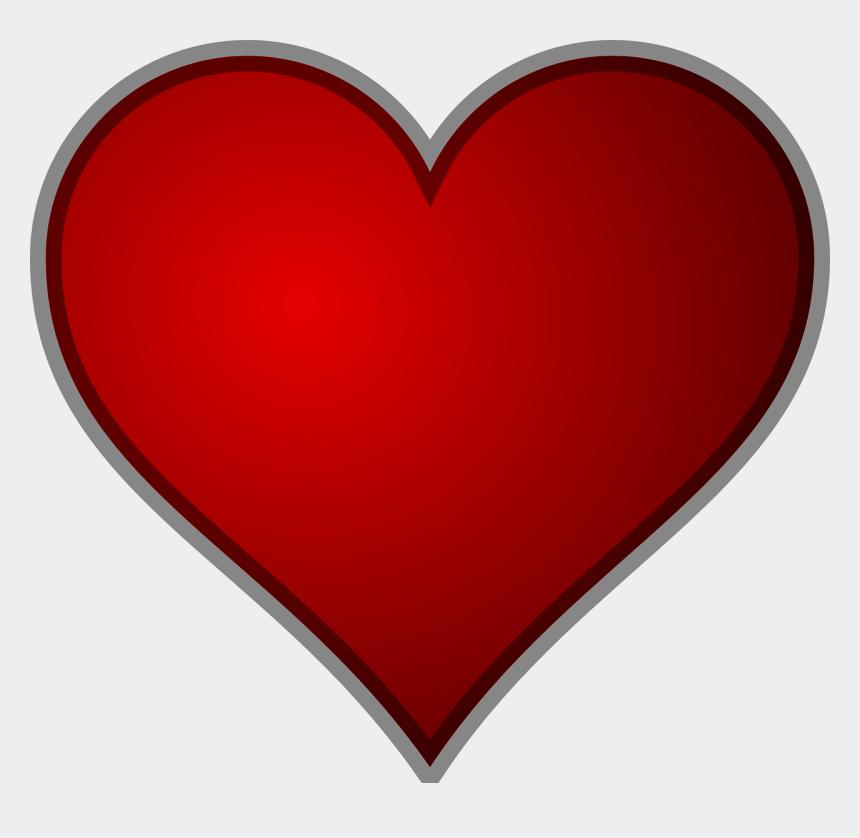 free heart clipart, Cartoons - Heart Clip Art - Heart Shape For Valentines