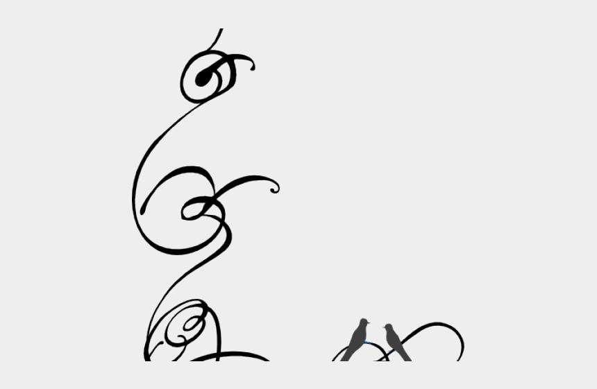 swirls clipart, Cartoons - Swirls Clipart Elegant - Transparent Decorative Line Design
