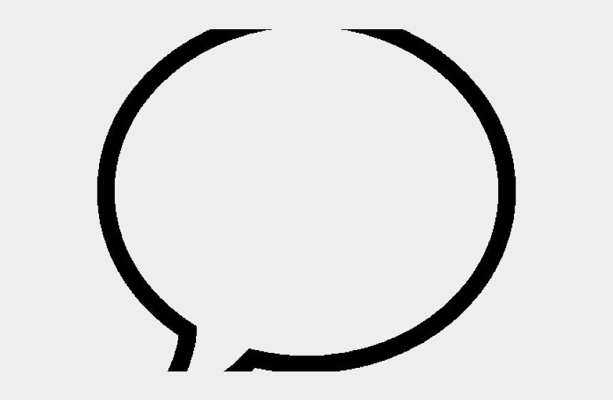 bubble clipart, Cartoons - Speech Bubble Clipart Transparent Background - Circle