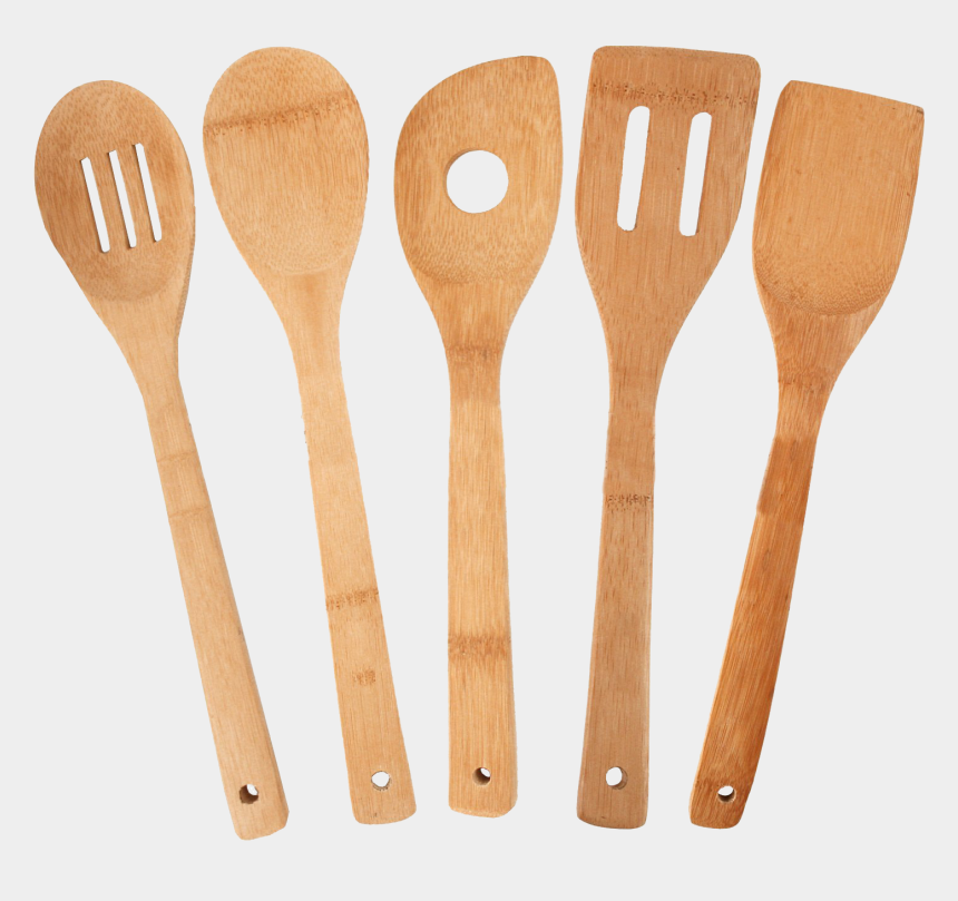 silverware clipart, Cartoons - Cooking Tools Png Transparent Images - Wooden Kitchen Utensils Png