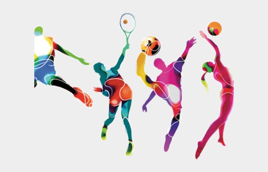 family roller skating clipart, Cartoons - Sports Activities Clipart Family Sport - Multi Sport Athlete Clip Art